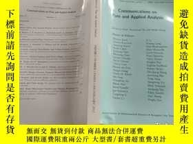 二手書博民逛書店Communications罕見on pure and applied analysis JANUARY 2012