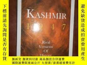 二手書博民逛書店Kashmir,罕見1947: Rival Versions o