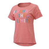 (B5) MIZUNO 美津濃 女短袖T恤 N2TA020265 亮粉橘 [陽光樂活]