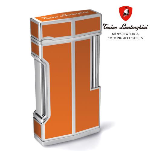 義大利 藍寶堅尼精品 - 復古式 MITO LIGHTER 打火機(橘色) ★ Tonino Lamborghini 原廠進口 ★