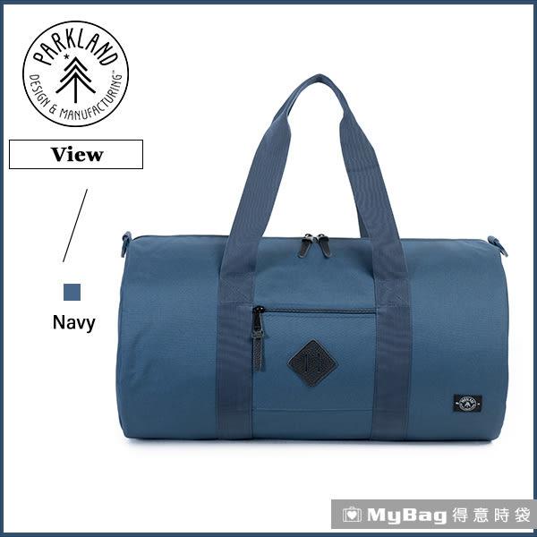 Parkland 旅行袋 深藍色  休閒大容量側背包 View-042 MyBag得意時袋