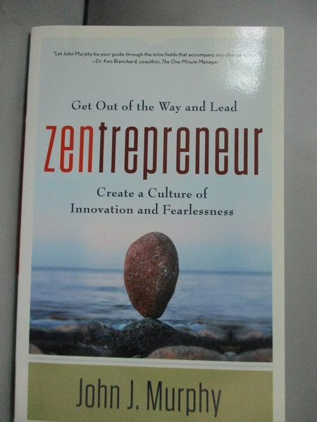 【書寶二手書T6/大學商學_GPS】Zentrepreneur: Get Out of the Way and Lead