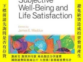 二手書博民逛書店Subjective罕見Well-being And Life SatisfactionY464532 Jam