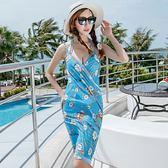 K.J時尚女郎愛維利新款泳衣 時尚性感鋼托款比基尼三件套泳衣 1633