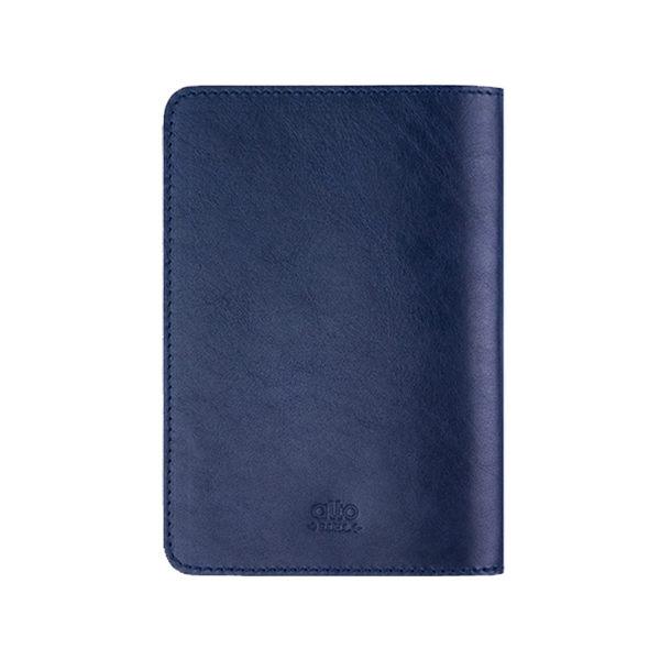 alto 輕便真皮護照套,Passport Holder - 海軍藍 [可客製雷雕文字,需加購] 皮革保護套