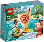 【LEGO樂高】DISNEY PRINCESS 海洋奇緣 莫娜的海洋歷險 #43170
