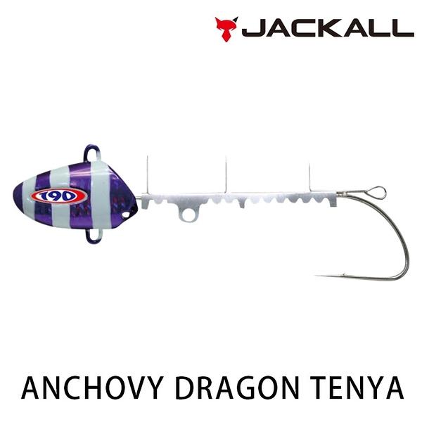 漁拓釣具 JACKALL ANCHOVY DRAGON TENYA 40號 [天亞頭]