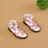 女童涼鞋 公主鞋兒童大童沙灘鞋女孩寶寶鞋1-6歲