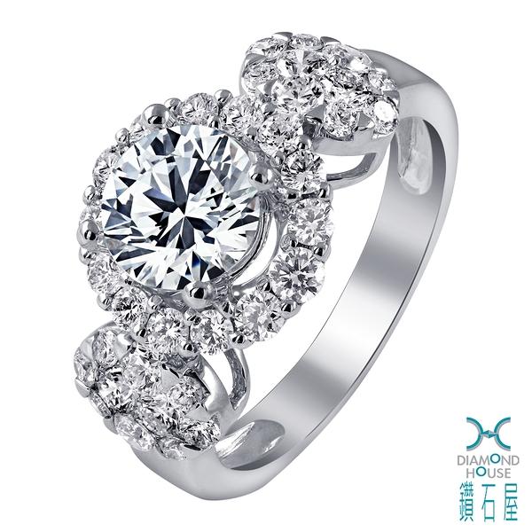 【鑽石屋】1.50克拉鑽石戒指