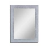 藝術防水雙掛鏡 銀色 60x80cm