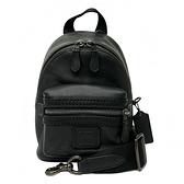 【COACH】專櫃款男款中性斜背單肩包(黑)