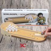 桌遊益智桌面游戲木制迷你保齡球玩具