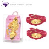【元大珠寶】黃金9999科技博士彌月音樂盒0.20錢(手環墜飾純金套組)