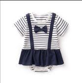 新生兒連體衣 寶寶夏裝衣服 AD611『毛菇小象』