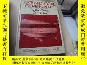 二手書博民逛書店State罕見And Local Government th t