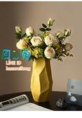 花瓶 現代簡約花瓶擺件客廳插花干花家居裝飾品陶瓷擺設 風之海