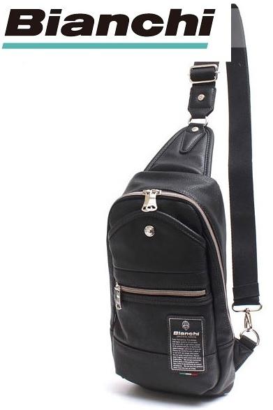 【父親節禮物】Bianchi 義大利腳踏車品牌 單肩休閒便利背包