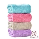 6條裝 掛式純棉吸水洗臉毛巾正方形擦手帕子【櫻田川島】