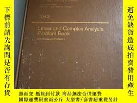 二手書博民逛書店罕見ar and complex analysis problem book(Lecture notes in m
