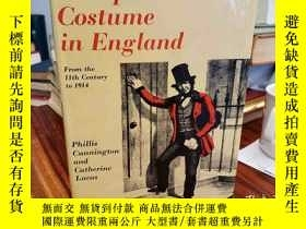 二手書博民逛書店Occupational罕見Costume in England