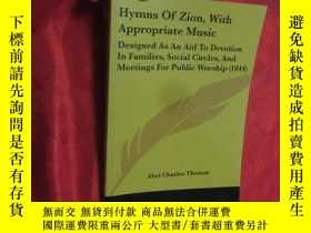 二手書博民逛書店Hymns罕見of Zion, with Appropriate Music (小16開) 【詳見圖】Y546