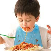 618好康鉅惠超軟硅膠圍嘴嬰兒童圍兜吃飯兜口水兜食飯兜
