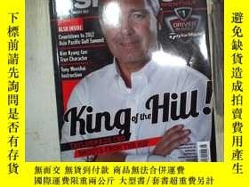 二手書博民逛書店ASIAN罕見GOLF MONTHLY 2012 143 (007)Y180897