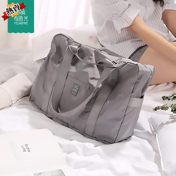 旅行收納包 可套拉桿箱的旅行包手提行李袋折疊包便攜旅行袋拉桿箱包收納包 快速出貨