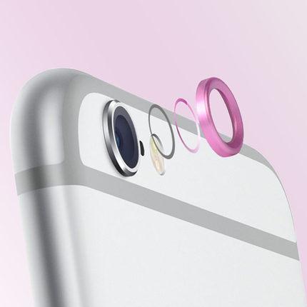 蘋果iphone 6 plus 指紋按鍵Homea鍵/鏡頭保護圈  iPhone 6 4.7吋保護膜/ 按鍵貼指紋識別