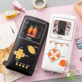 創意遊戲機透明筆袋 可愛迷你小清新簡約鉛筆盒 韓國學生文具用品【全館免運88折下殺】