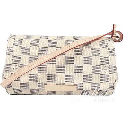 Louis Vuitton LV N41277 Favorite PM 經典花紋鍊條小肩背包(附皮革背帶) 全新 預購【茱麗葉精品】