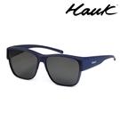 HAWK 新型薄框偏光太陽眼鏡套鏡(2用...