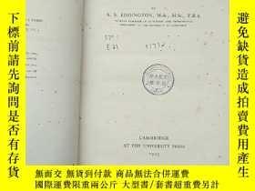 二手書博民逛書店The罕見mathematical theory of relativity(P2640)Y173412