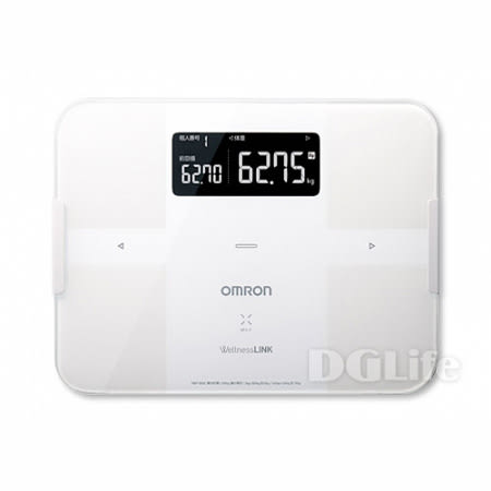 OMRON 歐姆龍 藍芽智慧體重體脂計 HBF254 白
