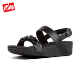 熱銷推薦7折  【FitFlop】LOTTIE MARBLE-CHAIN BACK-STRAP SANDALS鎖鏈後帶涼鞋-女(黑色)