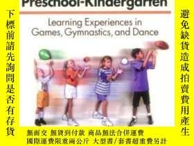 二手書博民逛書店Physical罕見Education Unit Plans for Preschool-Kindergarten