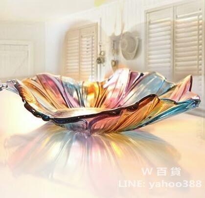 水果盤擺件 茶几糕點零食收納 抽象風格