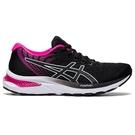 ASICS GEL-CUMULUS 22 (D) 女鞋 慢跑 緩衝 耐磨 網布 透氣 黑 粉【運動世界】1012A738-001