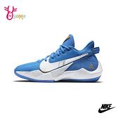 NIKE童鞋 男童籃球鞋 FREAK 2 SE 大童籃球鞋 高筒籃球鞋 運動鞋 耐磨 Q7129#藍色◆OSOME奧森鞋業