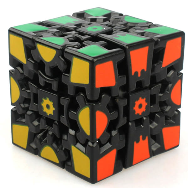 齒輪三階3D立體魔方一代二代異形魔方超順滑送還原教程早教玩具