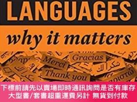 二手書博民逛書店預訂Modern罕見Languages: Why It MattersY492923 Katrin Kohl