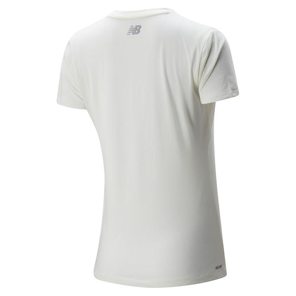 New Balance 女裝 短袖 訓練 Dry 科技棉 快乾 灰【運動世界】AWT01158SST