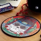 滑鼠墊 妙手回潮小滑鼠墊創意電腦競技游戲鎖邊圓形桌墊小號【紅人衣櫥】