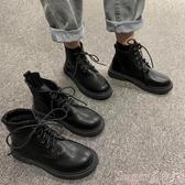 馬丁靴2020年夏季新款英倫風春秋瘦瘦單靴ins潮馬丁靴短靴子女薄款透氣 suger