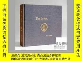 二手書博民逛書店2014年出版罕見The Lyrics: Since 1962
