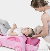 寶寶洗頭神器洗頭椅兒童洗頭躺椅小孩洗頭床洗發凳可折疊可坐躺女QM 依凡卡時尚