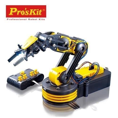 【寶工 ProsKit 科學玩具】動力機器手臂 動力機械手臂 GE-535N