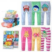 棉質卡通寶寶屁屁褲 嬰幼兒保暖長褲 (5件組) AM0150 好娃娃