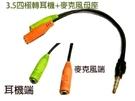 [鼎立資訊] VD-175 3.5四極公轉耳機+麥克風母座