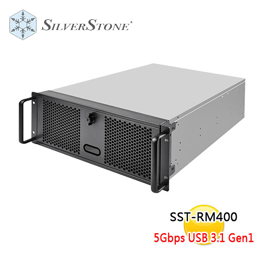 SilverStone 銀欣 SST-RM400 4U 伺服器 機殼 (不含滑軌)